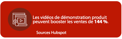 Les vidéos de démonstration produit peuvent booster les ventes de 144 %